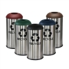 Stainless Steel Waste Recycling Bin