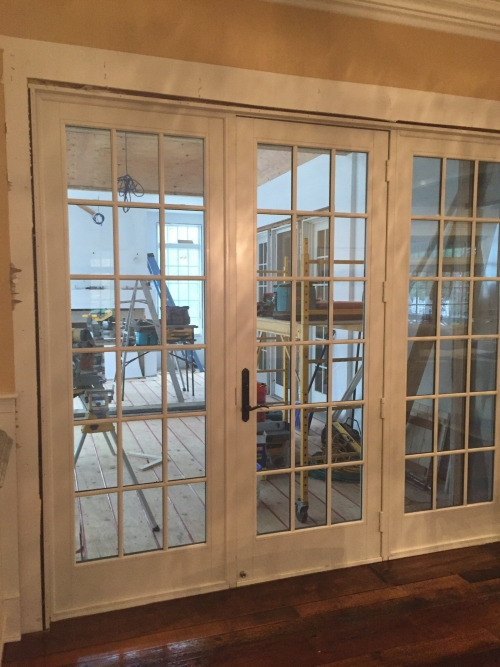 Anderson 3 panel 9ft french door in rumson nj for Anderson french doors