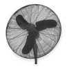 Oscillating commercial wall mount fan