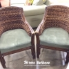 Wood Wicker Chairs