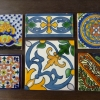 Hand Painted Tile L176