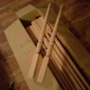 Balusters and handrail for sale