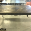 Classic Style Table with Carved Detail - Santa Ana ReStore