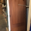 Mahogany Front Door and Sidelites