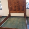 Hardwood bed frame