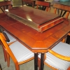 Century Furniture Table, Chairs and Hutch