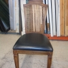 Wooden Chair with Woven Backing (x6) M120