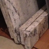 Two White Ice Granite Slabs