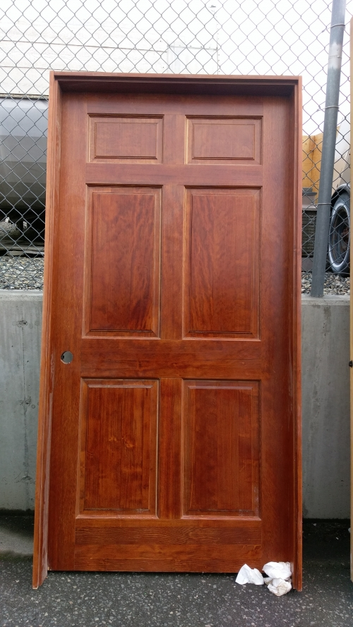 solid core custom entry door 43 in pasco wa