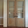 Cypress doors with side panels