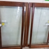 Antique glass cabinet doors