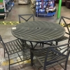 Round Patio Table w/ 4 chairs
