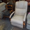 Leather recliner #17