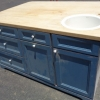 Kitchen Island and Butcher block top S184
