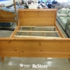 Knotty Pine Bed Frame