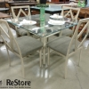 Chic Square Glass Table- Anaheim
