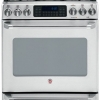 GE Cafe Gas Range with convection oven and extra lower oven drawer