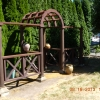 Arched Steel Gateway