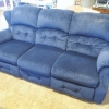 Blue Cushion Couch