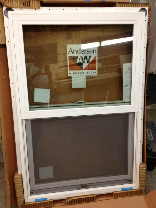 Brand new white anderson 100 series windows in rochester for Brand new windows