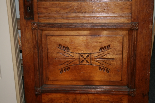 Antique wood glass door carved in defiance oh 43512 for Old wood doors for sale