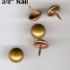Upholstery Decorative Tacks Nails French Natural 100pcs
