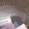 Custom American Cherry curved stair