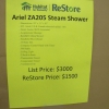 ARIEL ZA205 STEAM SHOWER