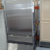 30\'\' STAINLESS STEEL REFRIGERATOR & FREEZER