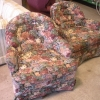 Arm Chair- Floral Pattern