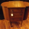 Antique 1870\'s Martha Washington  Sewing Cabinet