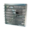 36 inch shutter mount wall exhaust fan
