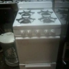 Apartment gas stove