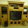 Large Entertainment Center with TV and more