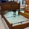 Wood King Bedframe