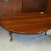 Folding, Oval Coffee Table