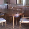 Oval Dining Room Table with leaf
