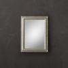 Brand New !! Baroque Aged Silver-Leaf Mirror