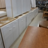 White Finish Kitchen Cabinet Grade Plywood D089