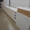 White Finish Bedroom Cabinet Grade Plywood D090