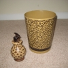 Leopard Waste Basket & Soap Dispenser