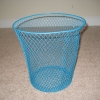 Teal Waste Basket