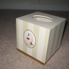 Tres Luxe Tissue Box