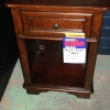 Lea Night Stand open cabinet