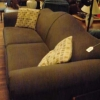 Dark Green Curved Back Sofa