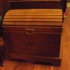 Round Topped Treasure Chest