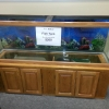 100-gal Fish Tank w/ Storage Cabinet, Accessories