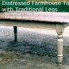 Beautiful, New Custom-built Farmhouse Wood Tables Built to Order - Starting at only $350