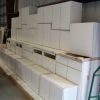 White Kitchen/Utility Cabinets