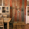Reclaimed Barn Siding, Weathered Boards, Planks, Wainscotting, Wood Paneling